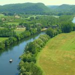 The Dordogne river