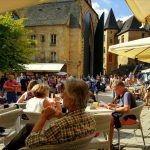 Lazy evenings in Medieval Sarlat