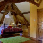 Charming oak beamed master suite