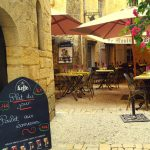 Eating out in Sarlat